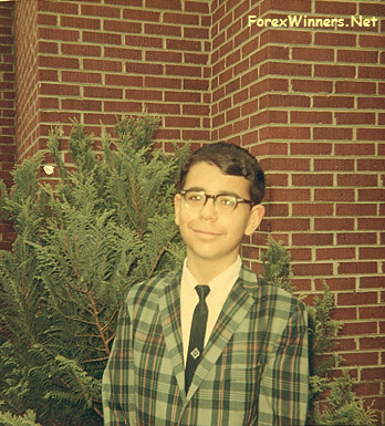 Ben Bernanke young student