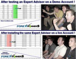 Funny Forex- Expert Advisors on real accounts