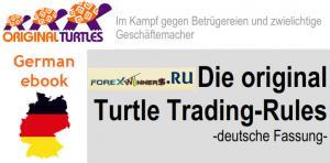 Die original Turtle Trading-Rules -deutsche Fassung